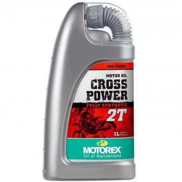Aceite Motorex Power Cross 2T 1 Litro