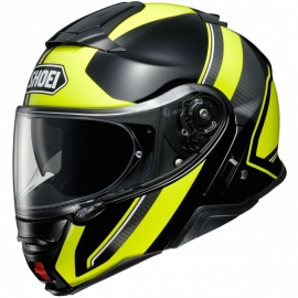 Casco Shoei Neotec 2 Excursion Negro Fluor