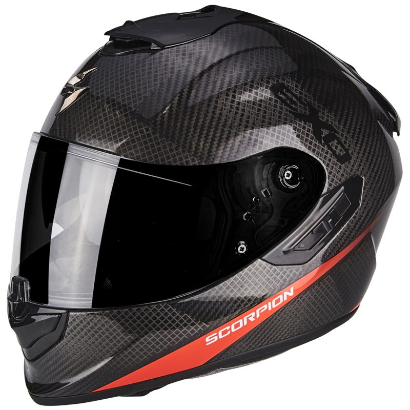 Casco Scorpion Exo 1400 Carbon Pure Red