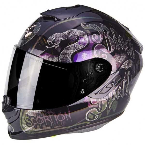 Casco Scorpion Exo 1400 Air Blackspell