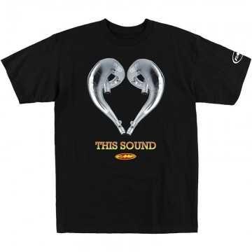 Camiseta FMF Love this sound - Black