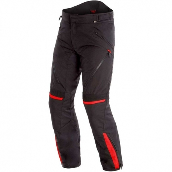 Pantalón Dainese Tempest 2 D-Dry Negro / Rojo