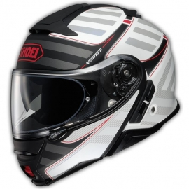 Casco Shoei Neotec 2 Splicer Tc-6 Blanco Rojo