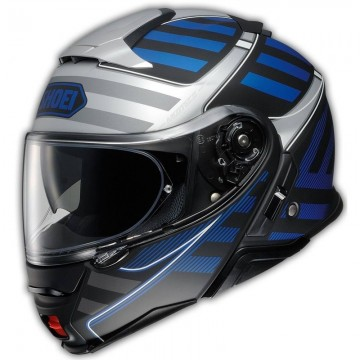 Casco Shoei Neotec 2 Splicer Tc-2 Blanco Azul