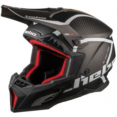 Casco Hebo MX Legend Carbon