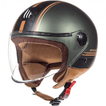 Casco MT Street Entire I2 Marron