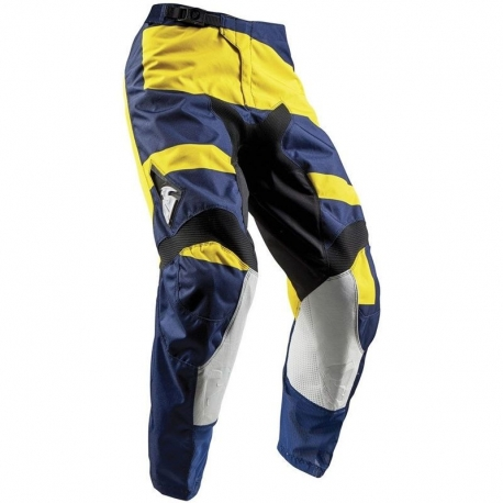 Pantalón Thor Pulse Level Azul / Amarillo