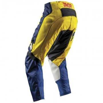Pantalón Thor Pulse Level Azul / Amarillo