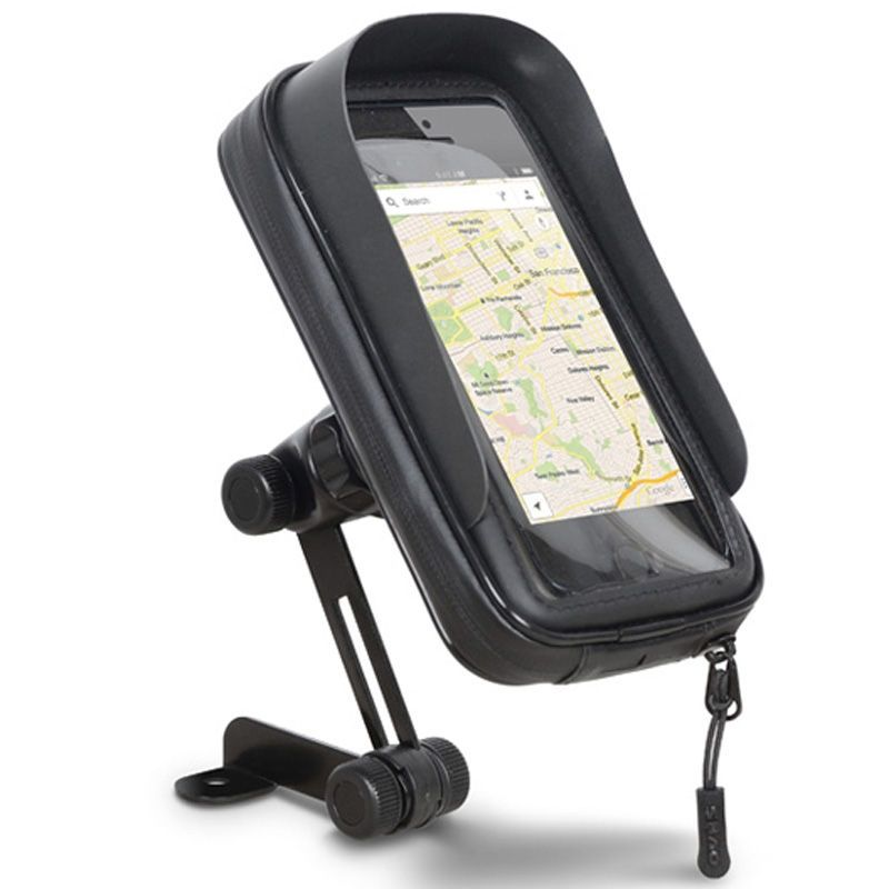 """Portanavegador Shad - Smartphone 6.6"""" Retrovisor"""