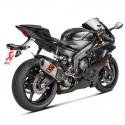 Tubo de escape Akrapovic Yamaha R6 2017/2018 Titanio