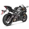 Tubo de escape Akrapovic Yamaha R6 2010/2016 Titanio / Carb