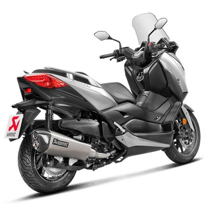 Tubo de escape Akrapovic Yamaha Xmax 400 2018