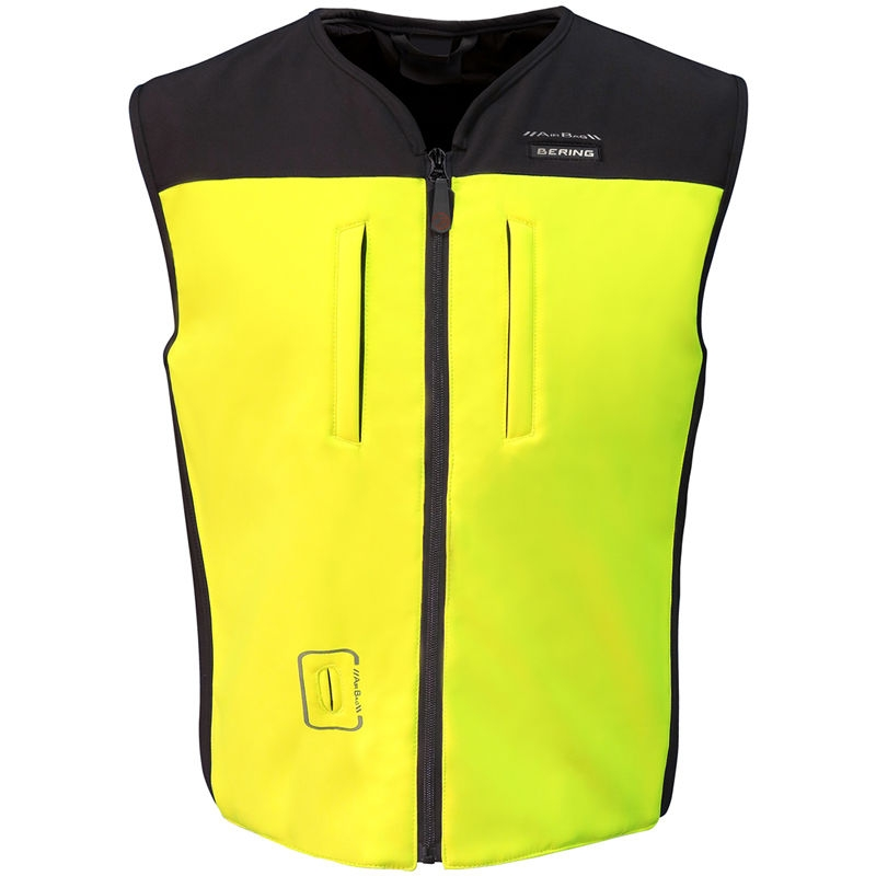 Chaleco Bering Airbag C-Protect Amarillo Fluor