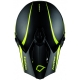 Casco Hebo MX Legend Carbon Amarillo Fluor