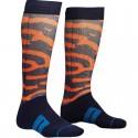 Calcetin Thor Moto Sock Rampant Navy Orange