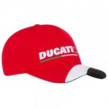Gorra Ducati Baseball Cap Corse Red