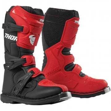 Bota Thor Blitz XP Infantil Rojo / Negro