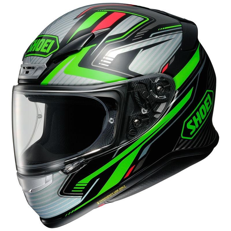 Casco Shoei NXR Stab TC4 Verde / Negro