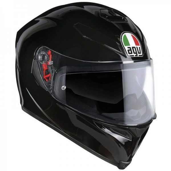 Casco Agv K5 S Negro Brillo