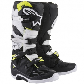 Bota Alpinestars Tech 7 Black/White