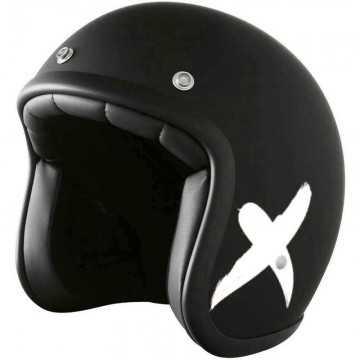 Casco Stormer Pearl X-Rider Negro / Blanco