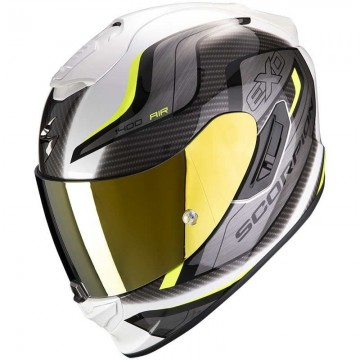 Casco Scorpion Exo 1400 Air Attune Amarillo