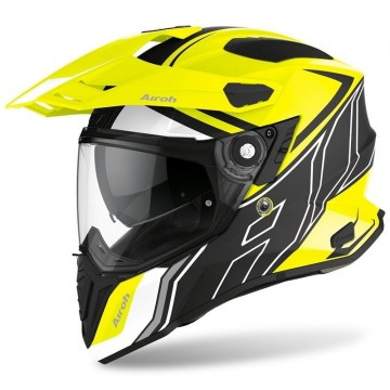 Casco Airoh Commander Fluor