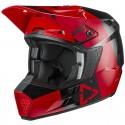 Casco Leatt Moto 3.5 V21.3 Rojo