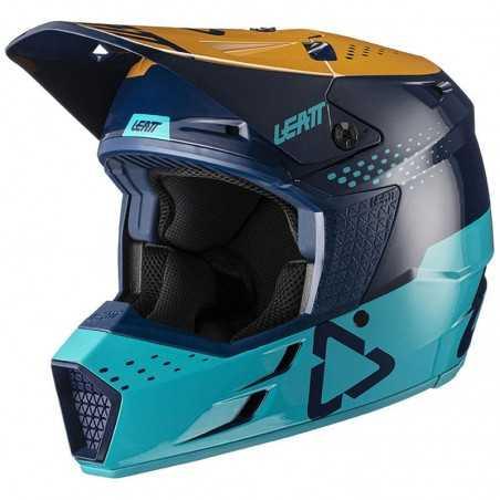 Casco Leatt Moto 3.5 V21.4 Azul