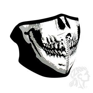 Máscara Calavera Neopreno