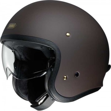 Casco Shoei J-O Mate MARRON