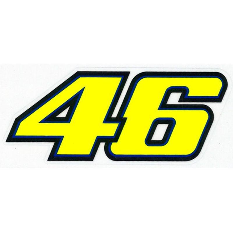 """Pegatina Valentino Rossi """"46"""""""