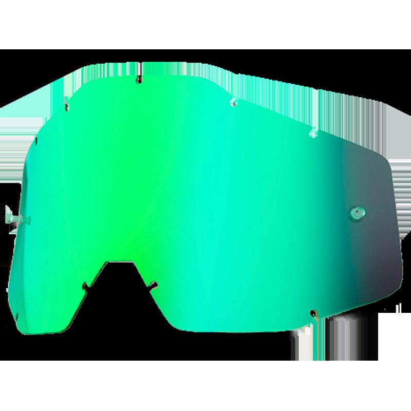 Cristal 100% Espejo Verde Accuri - Racecraft