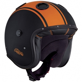 Casco Caberg Doom Legend Naranja / Negro